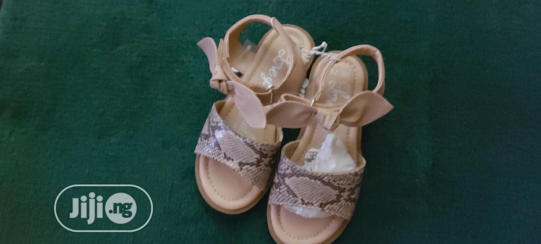 George Leopard Skin Sandal