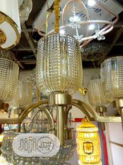 Chandelier With Glass   Home Accessories for sale in Lagos State, Ojo