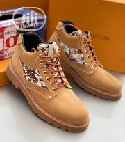 Original Louis Vuitton Men's Quality Ankles Boots Shoes   Shoes for sale in Lagos State, Lagos Island