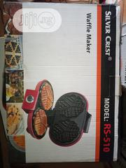 Silver Crest Waffle Maker (Designed Pattern) | Kitchen Appliances for sale in Lagos State, Ojo