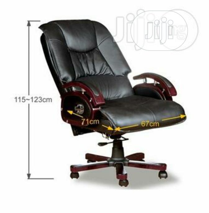 Brand New Imported Reclining Executive Leather Office Chair, Super Ch