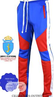Blue and Red TRACKPANT Oufit | Clothing for sale in Lagos State, Victoria Island
