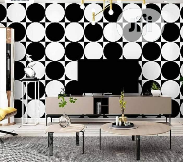 Black White Classy 3D Wallpaper
