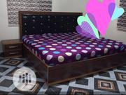 Maco Quality Bed Frame With Mattress, Sides Cabinet and Mirror | Furniture for sale in Lagos State, Amuwo-Odofin