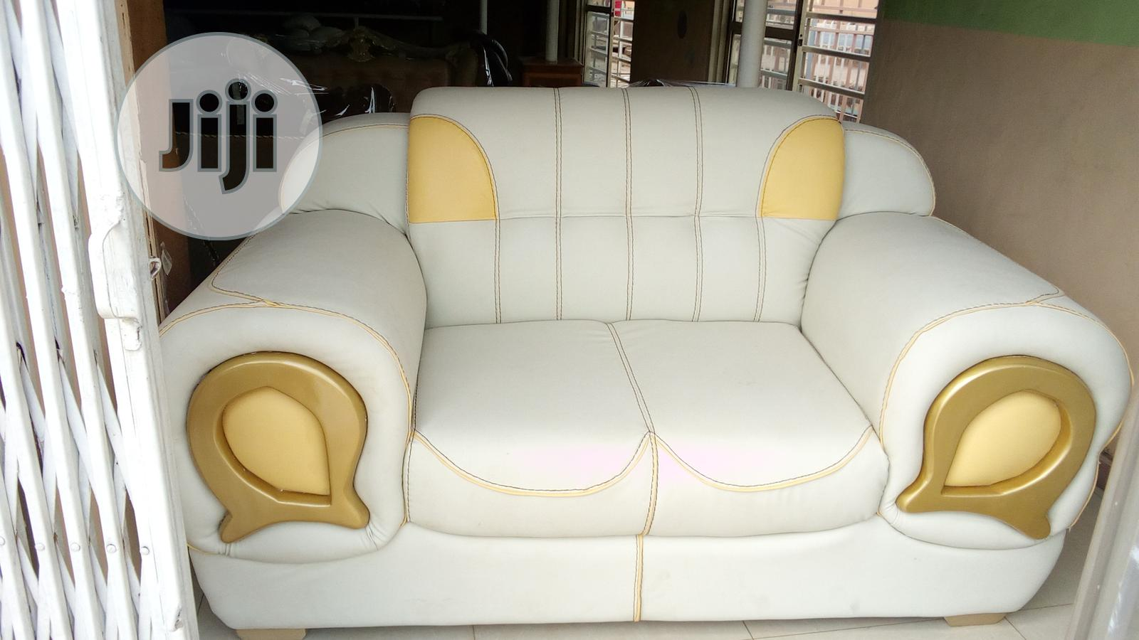 Archive: Set Of Executive Seven Seater Leather Sofa