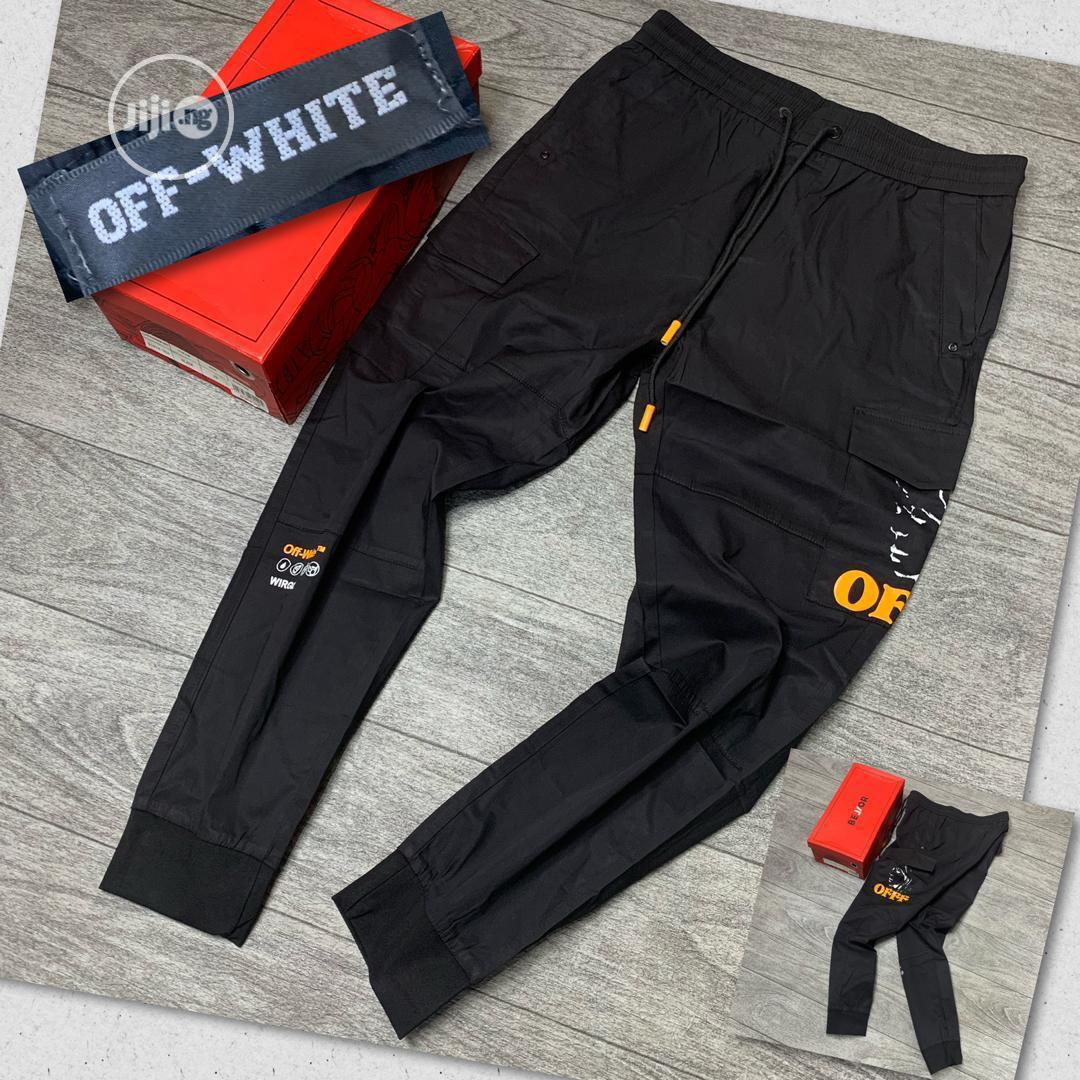 Original Off White Joggers Now Available In Store