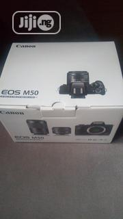 CANON EOS M50 Mirrorless Digital Camera With 15-45mm Lens (Black) | Photo & Video Cameras for sale in Lagos State, Ikeja