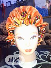 Reversible Ankara And Satin Hair Bonnet. | Clothing Accessories for sale in Enugu State, Enugu