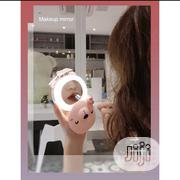 Portable Makeup Mirror With Led Light & Fan | Tools & Accessories for sale in Lagos State, Lagos Island