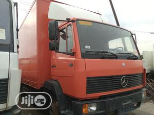 Mercedes Benz 814 Container Body Truck Red | Trucks & Trailers for sale in Lagos State, Apapa