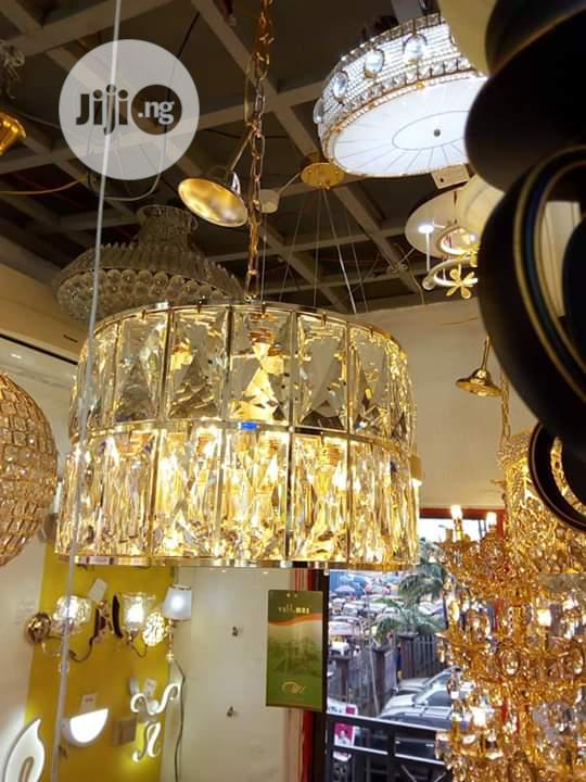 Christal Gold Chandelier