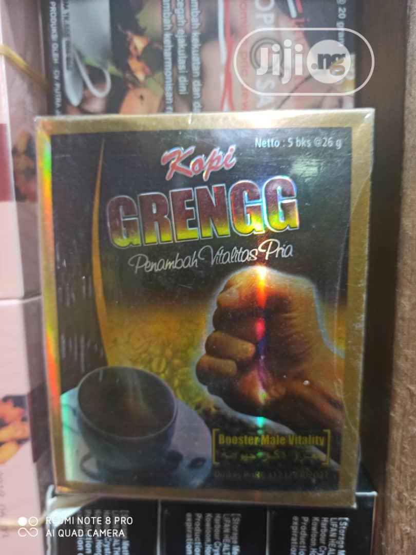GRENGG Coffee For Male Sexual Vitality