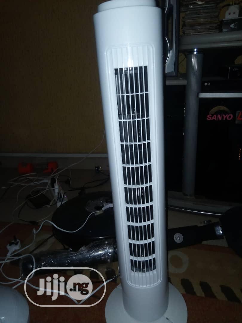 Brown New Bladeless Fan