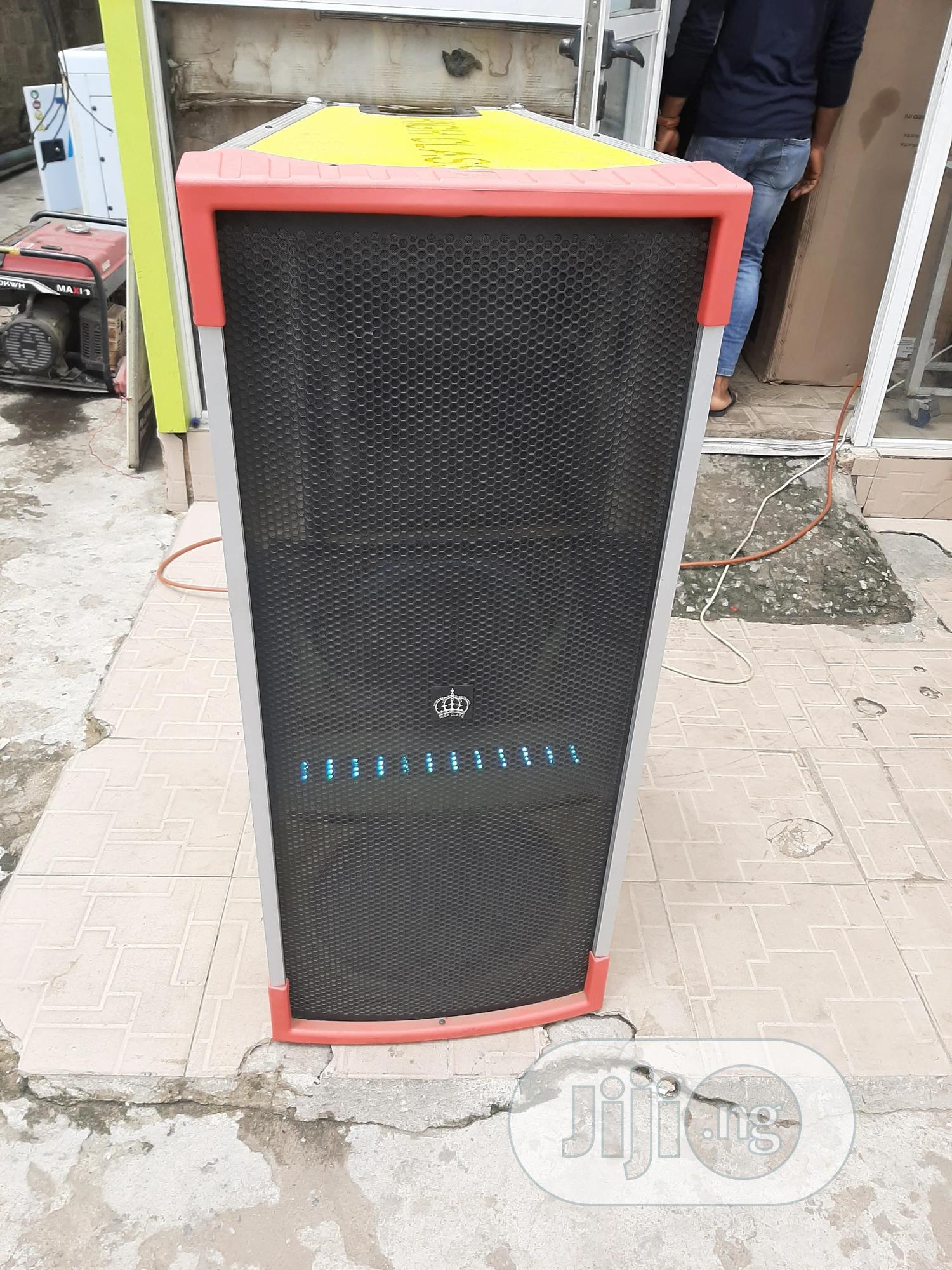 High Class Double Speaker | Audio & Music Equipment for sale in Ojo, Lagos State, Nigeria