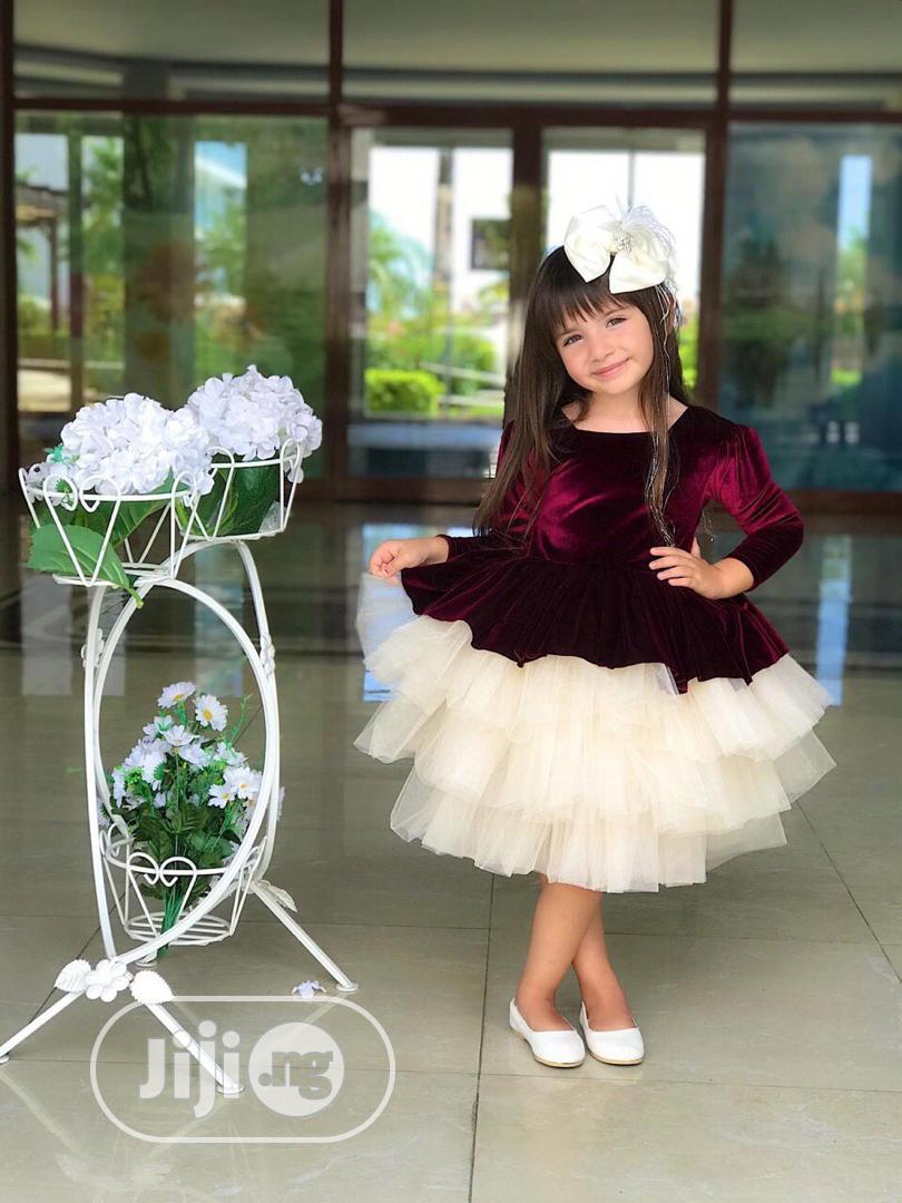 Ball Dress For Girls