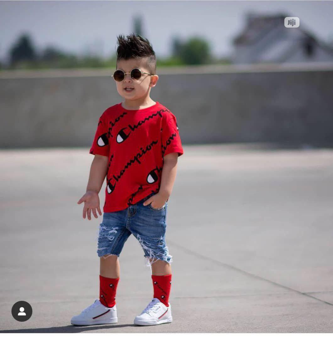 Top And A Short For Boys