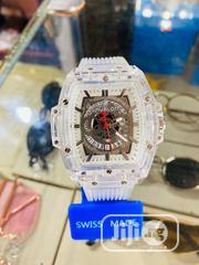Hublot White Rubber Watch | Watches for sale in Lagos State, Agboyi/Ketu
