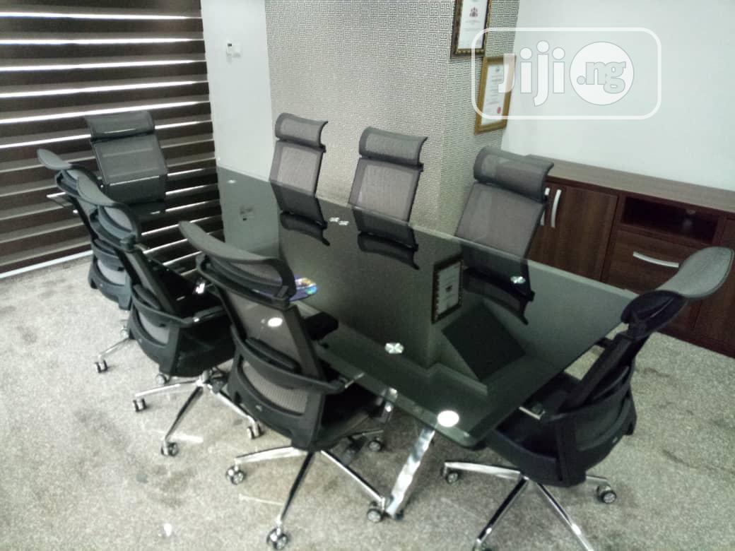 Picture of: Executive Glass Conference Table For 8 And 10 Seaters In Ojo Furniture Chinonso Stanley Jiji Ng For Sale In Ojo Chinonso Stanley On Jiji Ng