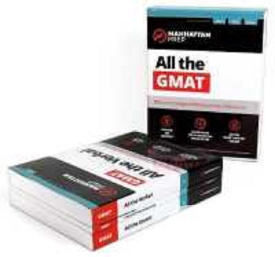 Complete Set Of Manhattan GMAT 2020