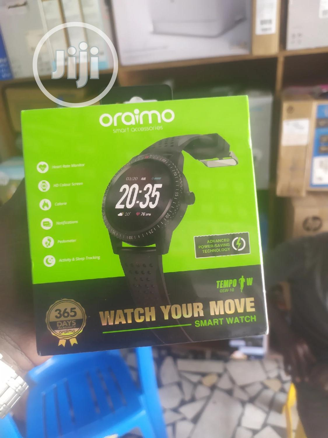 Oraiom Smart Watch OSW-10 | Smart Watches & Trackers for sale in Apapa, Lagos State, Nigeria