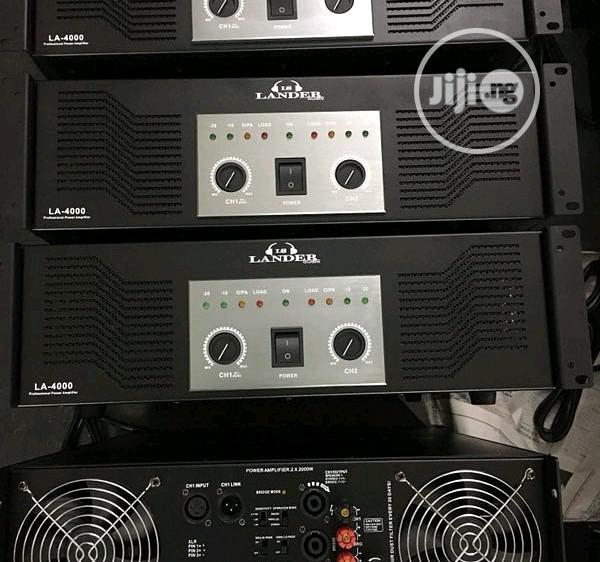 4000walts Power Amplifier Lander Audio