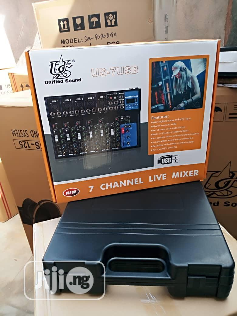 7channel Center Mixer | Audio & Music Equipment for sale in Ojo, Lagos State, Nigeria