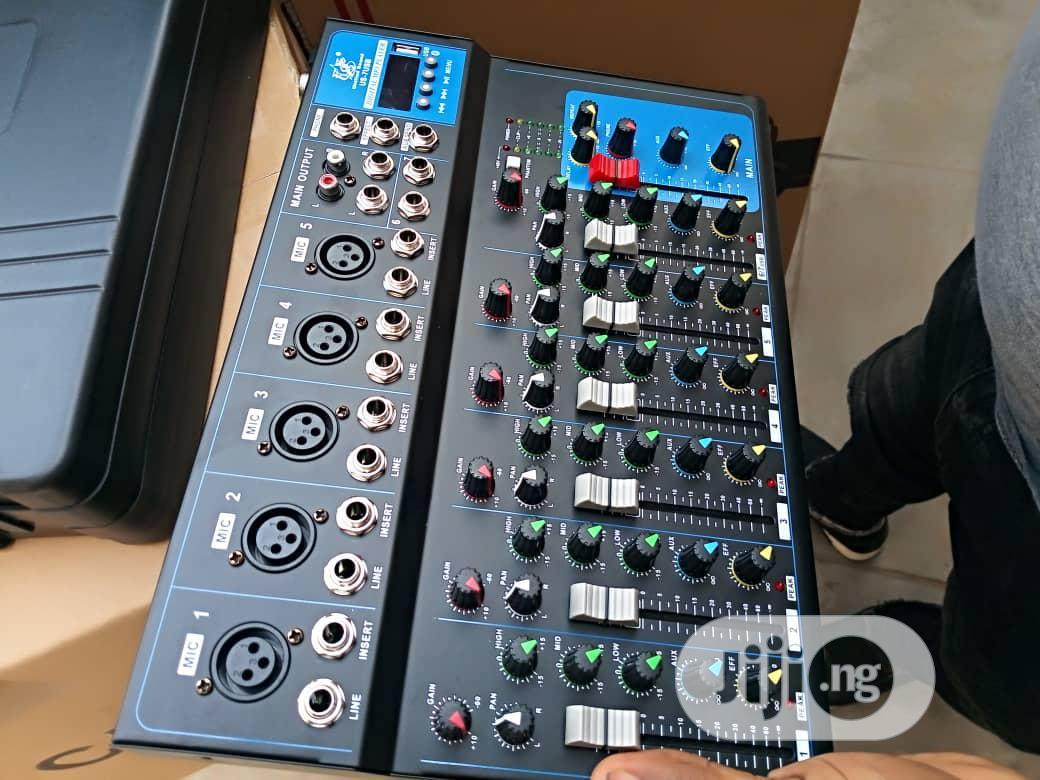 7channel Center Mixer