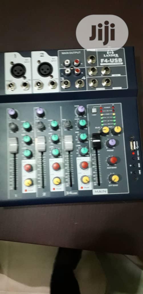 4 Channel Center Mixer