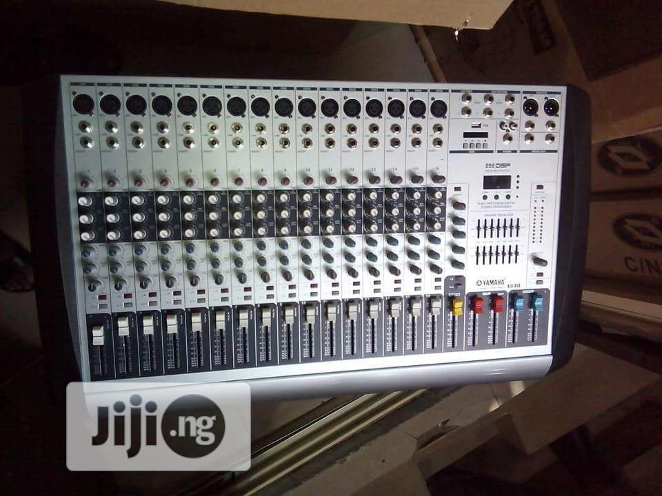 16 Channel White Face Yamaha | Audio & Music Equipment for sale in Ojo, Lagos State, Nigeria