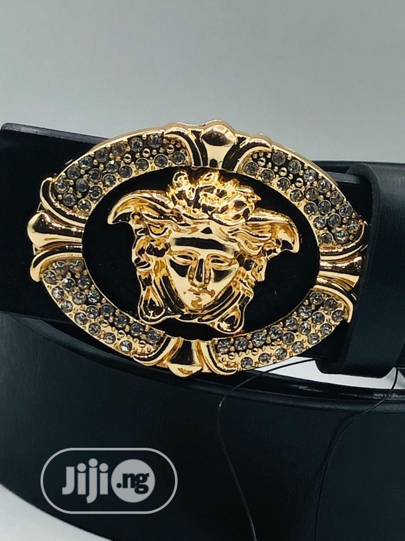 Versace Leather Belt Original