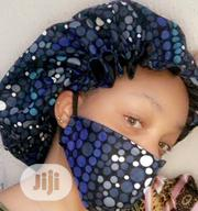 Our Nose Mask Also Comes With A Hair Bonnet. Same Design And Colour | Clothing Accessories for sale in Abuja (FCT) State, Gaduwa