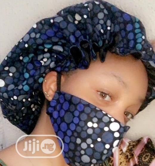 Archive: Our Nose Mask Also Comes With A Hair Bonnet. Same Design And Colour