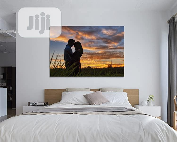 Wall Art With Flame
