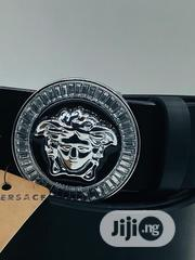 Versace Leather Belt Original | Clothing Accessories for sale in Lagos State, Surulere