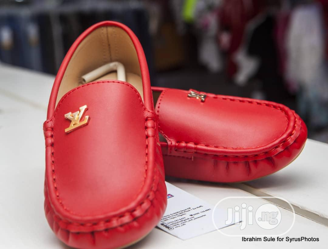 Louis Vuitton  Loafers For Kids.