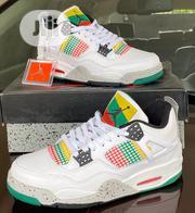 Air Jordan 4 Retro Rasta Sneakers Original   Shoes for sale in Lagos State, Surulere