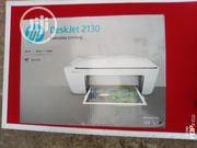 HP Deskjet 2130 3 In 1 Printer | Printers & Scanners for sale in Lagos State, Surulere