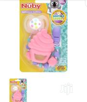 Nuby Dummy Clip (Bonus Teether) | Babies & Kids Accessories for sale in Lagos State, Ikeja