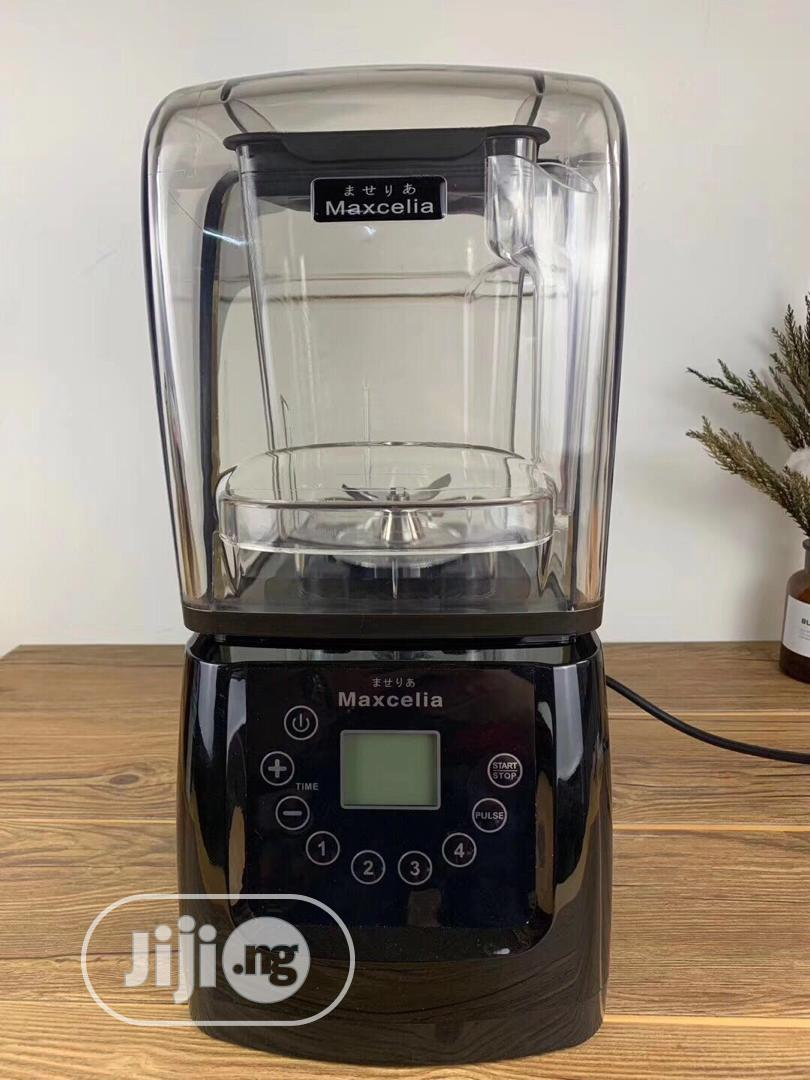 Maxcelia Commercial (Sound Proof) Blender. 2200watts