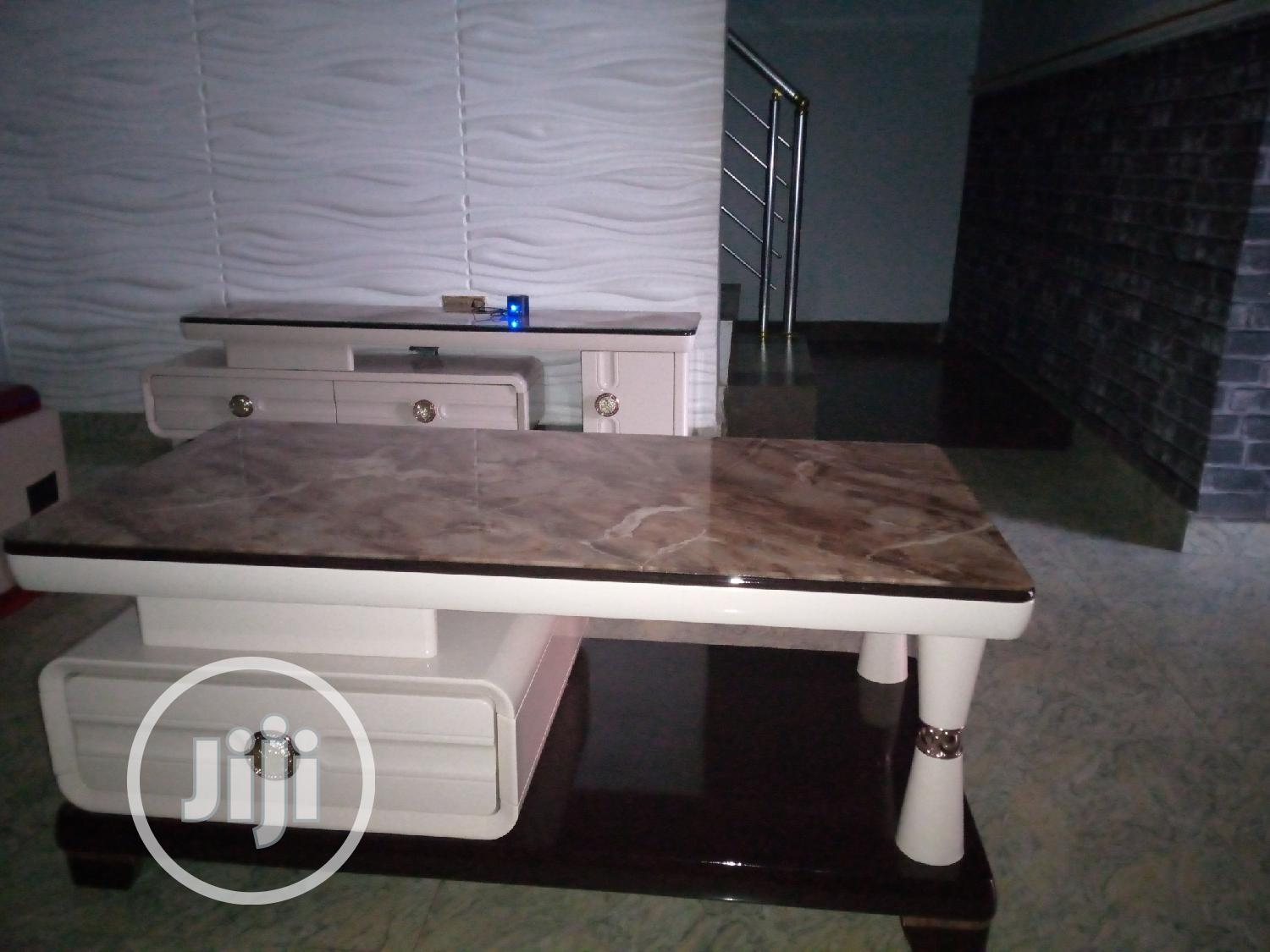 Quality TV Stand And Center Table | Furniture for sale in Isolo, Lagos State, Nigeria