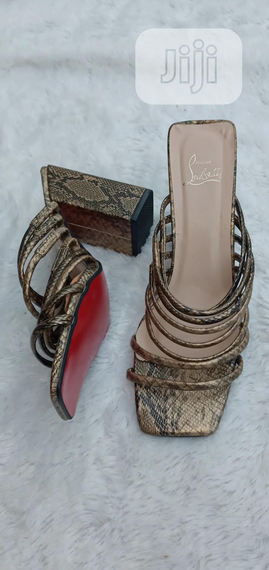 Straps Skin Slippers | Shoes for sale in Ikeja, Lagos State, Nigeria