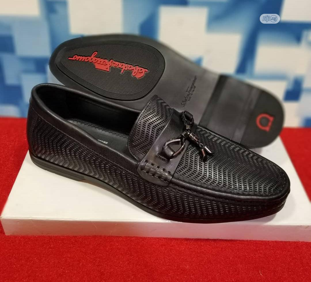 Ferragamo Loafers Men Shoe Now In Store | Shoes for sale in Lagos Island, Lagos State, Nigeria