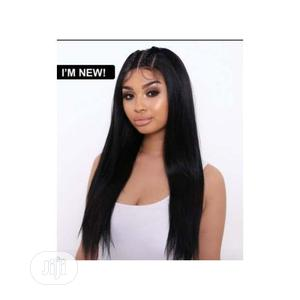 Straight Hair Wig With Front Lace Closure   Hair Beauty for sale in Lagos State, Lekki