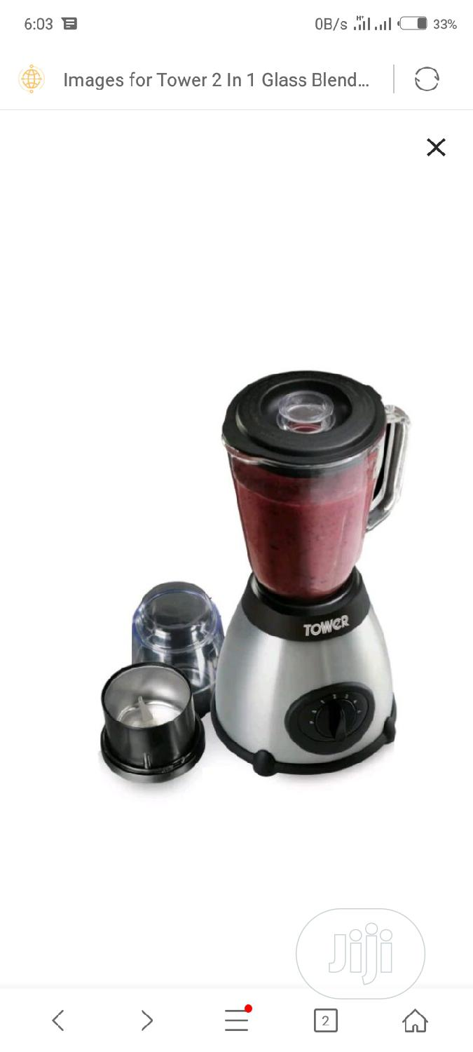 Tower Glass Blender | Kitchen Appliances for sale in Ojo, Lagos State, Nigeria