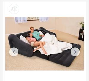 Intex Inflatable Pull Out Sofa Queen Bed | Furniture for sale in Lagos State, Maryland