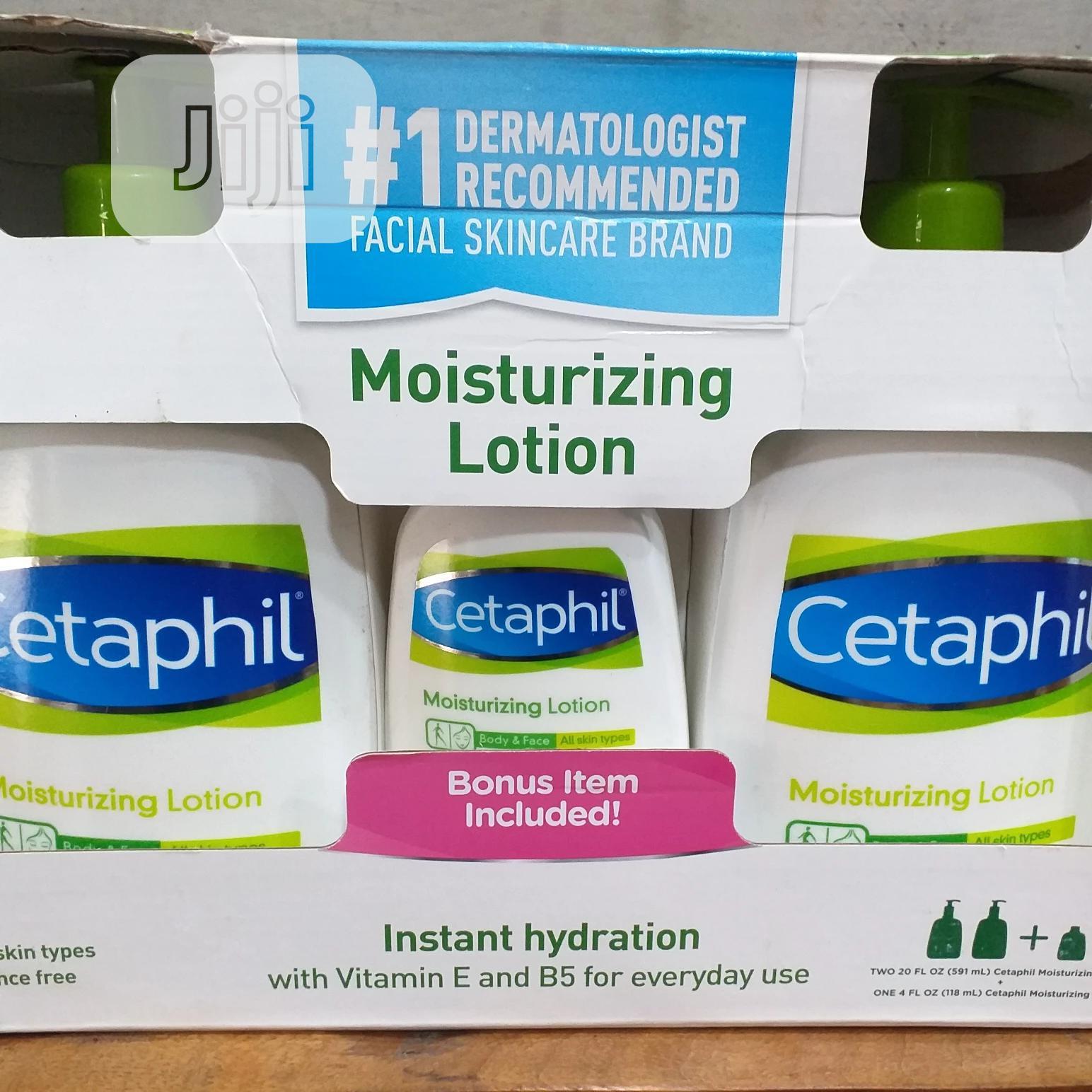 Archive: Cetaphil Moisturizing Lotion, Value Pack With Bonus