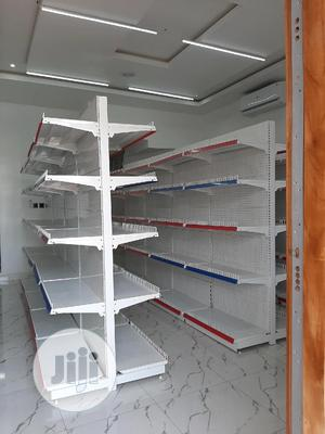 Supermarket Shelf ( Double Sided ) | Store Equipment for sale in Lagos State, Ojo
