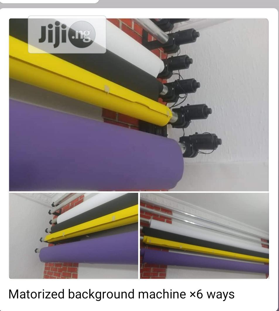6 Roller Remote Control Electric Backdrop Support System   Accessories & Supplies for Electronics for sale in Ojo, Lagos State, Nigeria