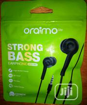 Oraimo Strong Bass Earphone | Headphones for sale in Abuja (FCT) State, Wuse