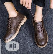 Men Casual Leather Shoes Brown | Shoes for sale in Lagos State, Magodo